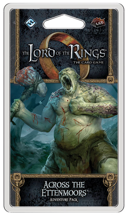 The Lord Of The Rings Lcg: Across The Ettenmoors Adventure Pack Box Front