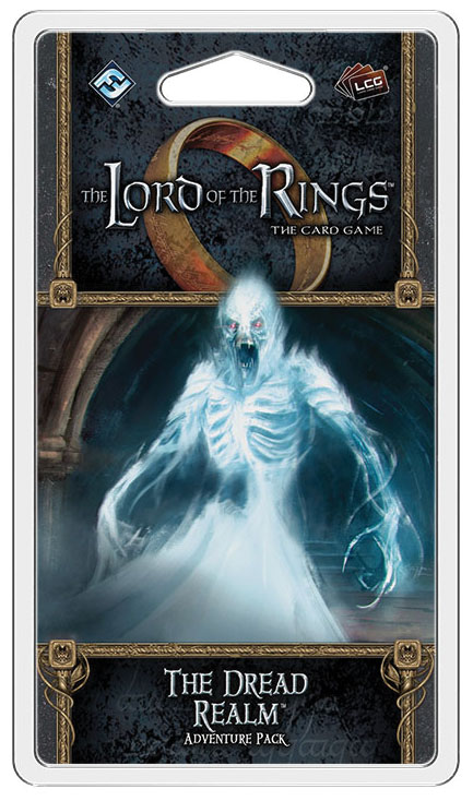 The Lord Of The Rings Lcg: The Dread Realm Adventure Pack Box Front