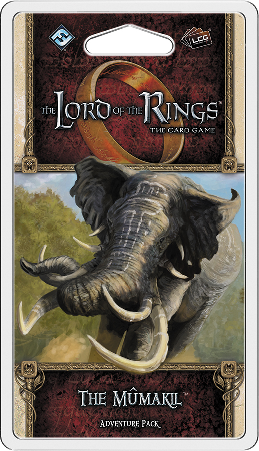 The Lord Of The Rings Lcg: The Mumakil Adventure Pack Box Front