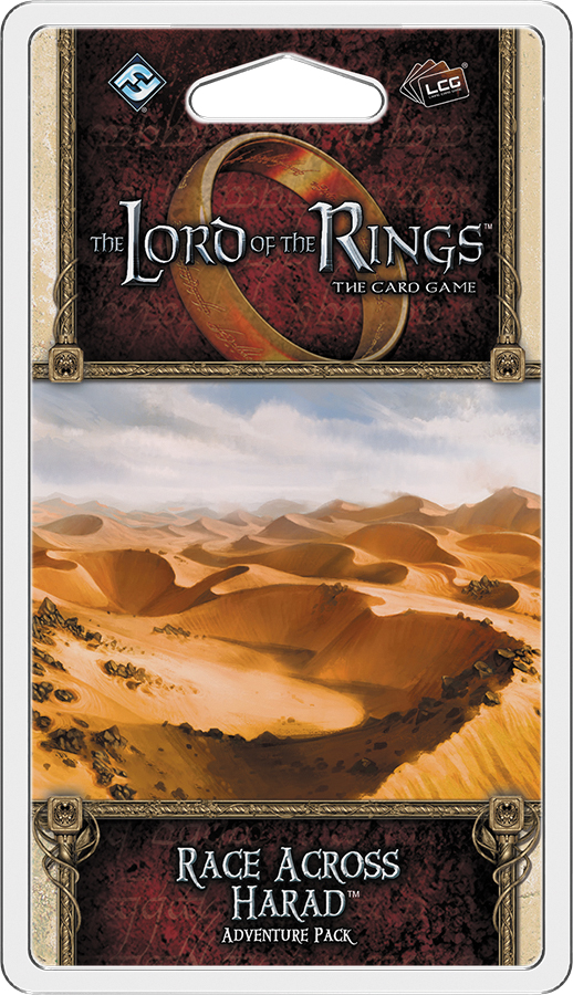 The Lord Of The Rings Lcg: Race Across Harad Adventure Pack Box Front