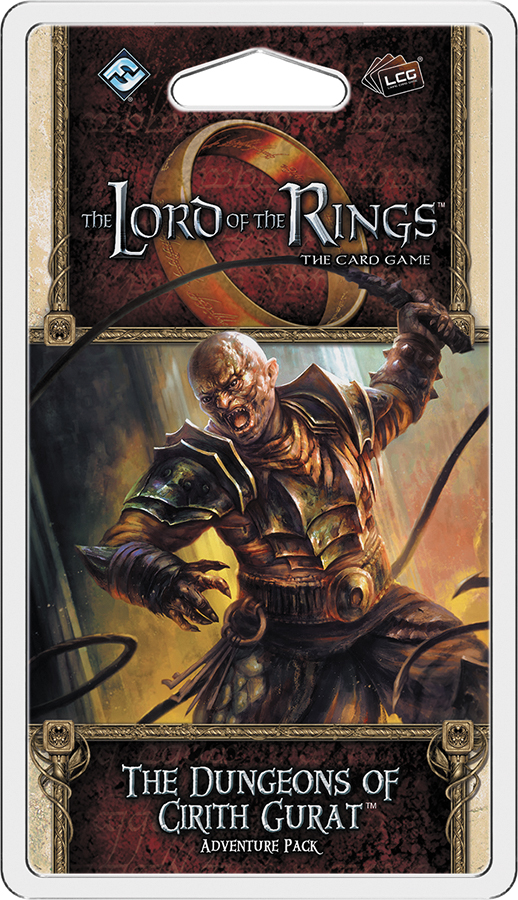 The Lord Of The Rings Lcg: Dungeons Of Cirith Gurat Adventure Pack Box Front