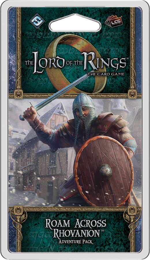 The Lord Of The Rings Lcg: Roam Across Rhovanion Adventure Pack Box Front