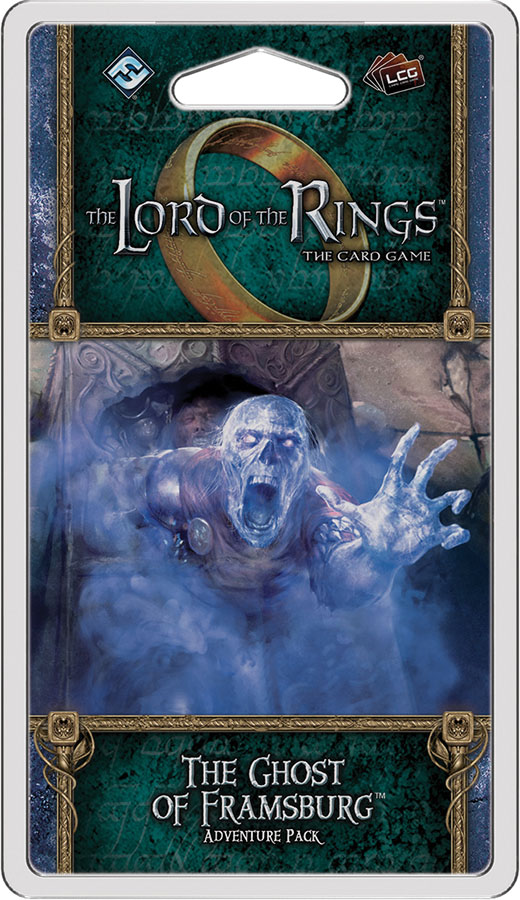 The Lord Of The Rings Lcg: The Ghost Of Framsburg Adventure Pack Game Box