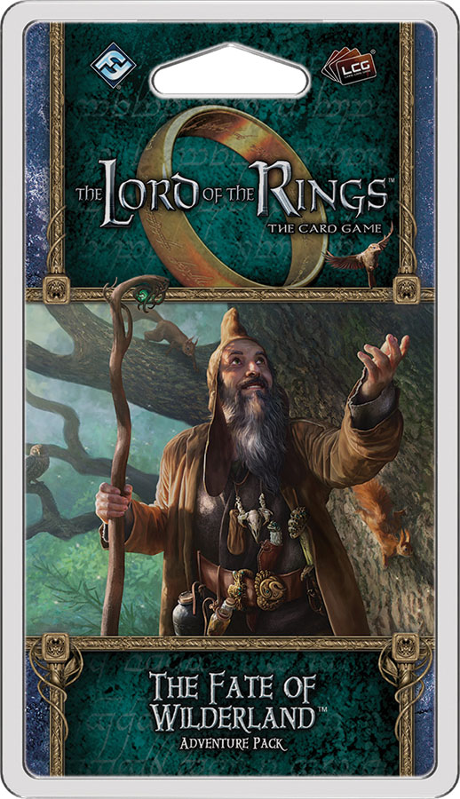 The Lord Of The Rings Lcg: The Fate Of The Wilderland Adventure Pack Game Box