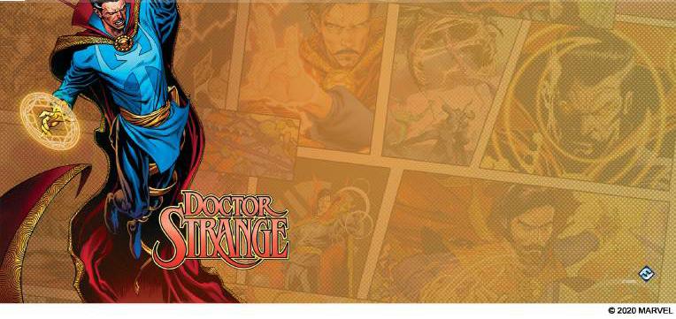 Marvel Champions Lcg: Doctor Strange Game Mat