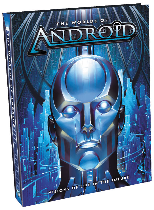 Android: The Worlds Of Android Hardcover Box Front