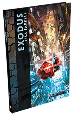 Android: Exodus Novella Hardcover Box Front