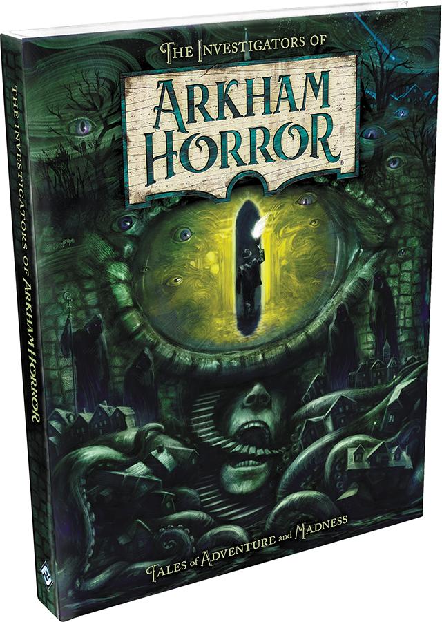 Arkham Horror: The Investigators Of Arkham Horror Hardcover Box Front