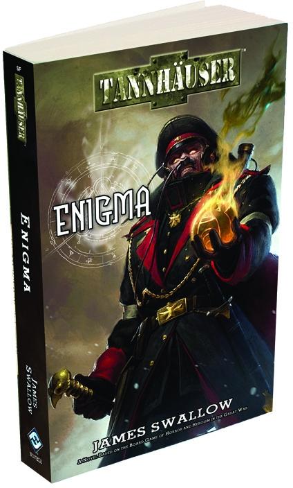 Tannhauser: Enigma Paperback Box Front