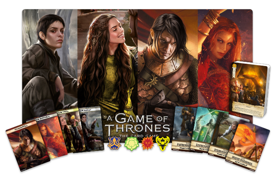 A Game Of Thrones Lcg: 2nd Edition - 2018 Great Hall Kit Box Front