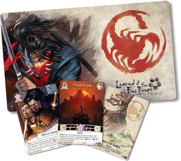 Legend Of The Five Rings Lcg: Underhand Of The Emperor Celebration Kit Game Box