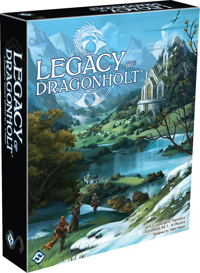 Legacy Of Dragonholt Box Front
