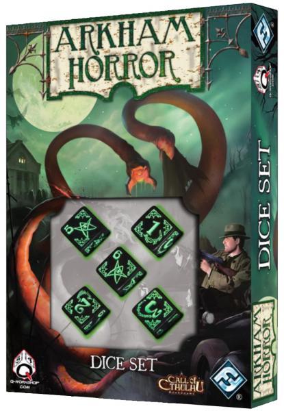 Arkham Horror: Dice Set Box Front