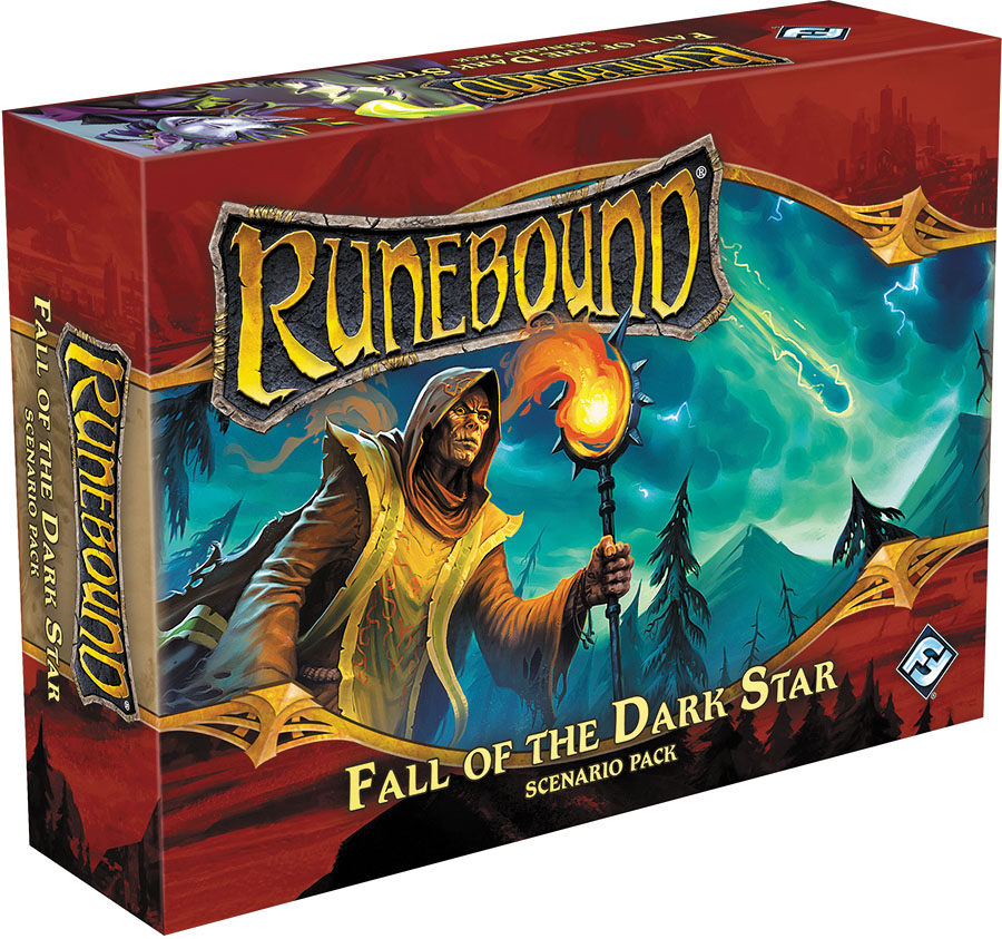 Runebound (third Edition): Fall Of The Dark Star Scenario Pack Expansion Box Front