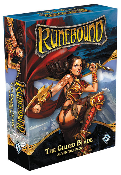 Runebound (third Edition): The Gilded Blade Adventure Pack Expansion Box Front