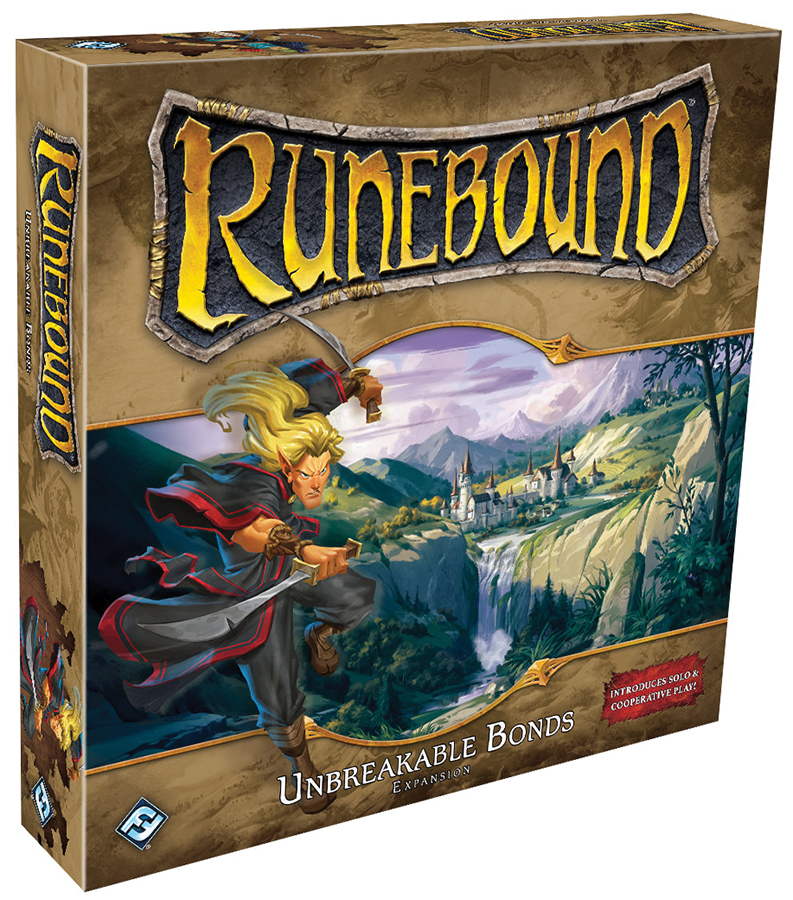 Runebound (third Edition): Unbreakable Bonds Expansion Box Front