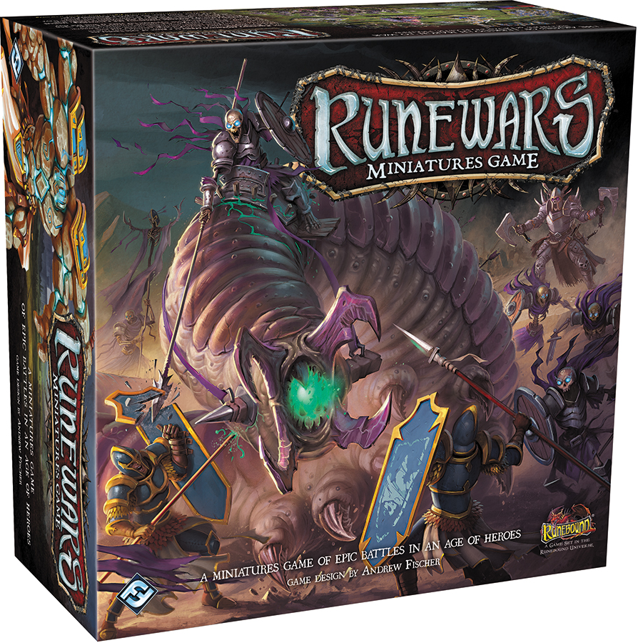 Runewars: The Miniatures Game Box Front
