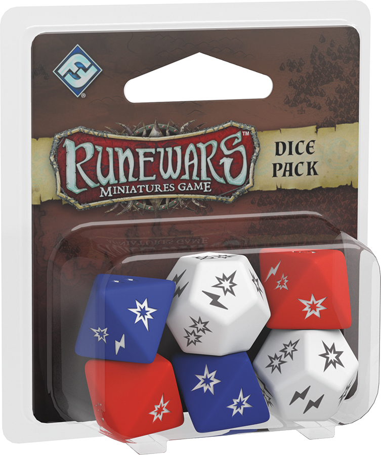 Runewars: The Miniatures Game - Dice Pack Box Front