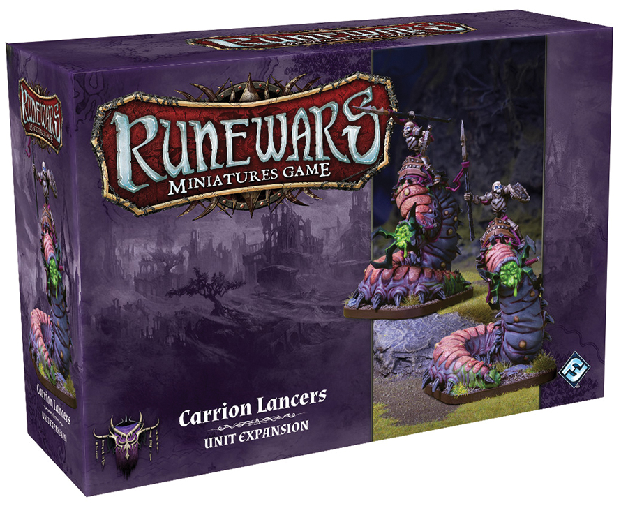 Runewars: The Miniatures Game - Carrion Lancers Unit Expansion Box Front