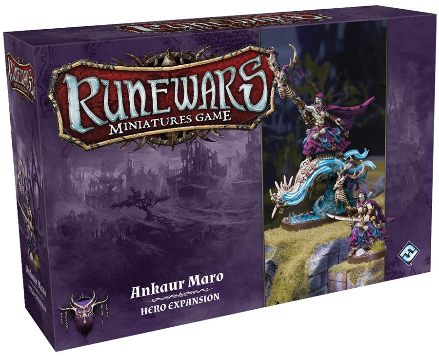 Runewars: The Miniatures Game - Ankaur Maro Hero Expansion Box Front