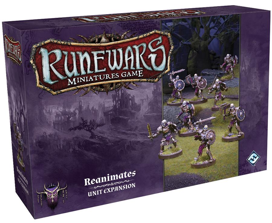 Runewars: The Miniatures Game - Reanimates Unit Expansion Box Front