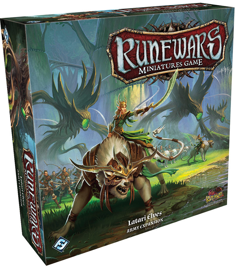 Runewars: The Miniatures Game - Latari Elves Army Expansion Box Front