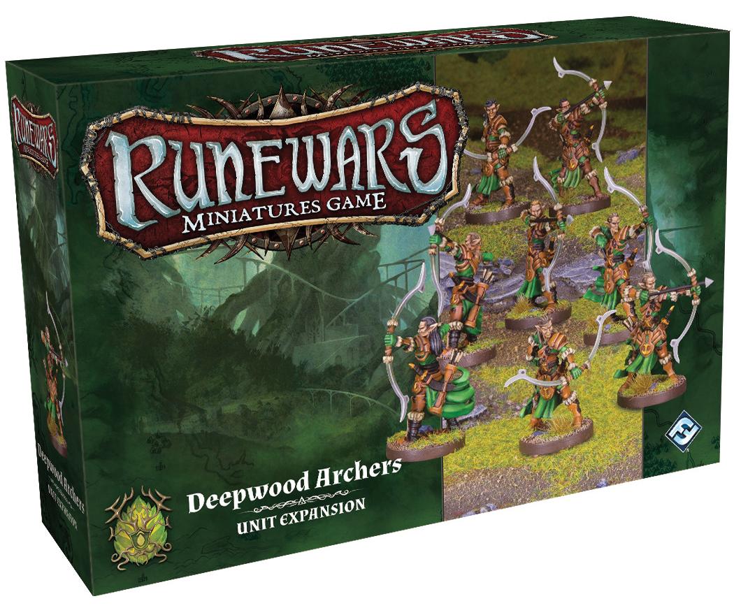 Runewars: The Miniatures Game - Deepwood Archers Unit Expansion Box Front