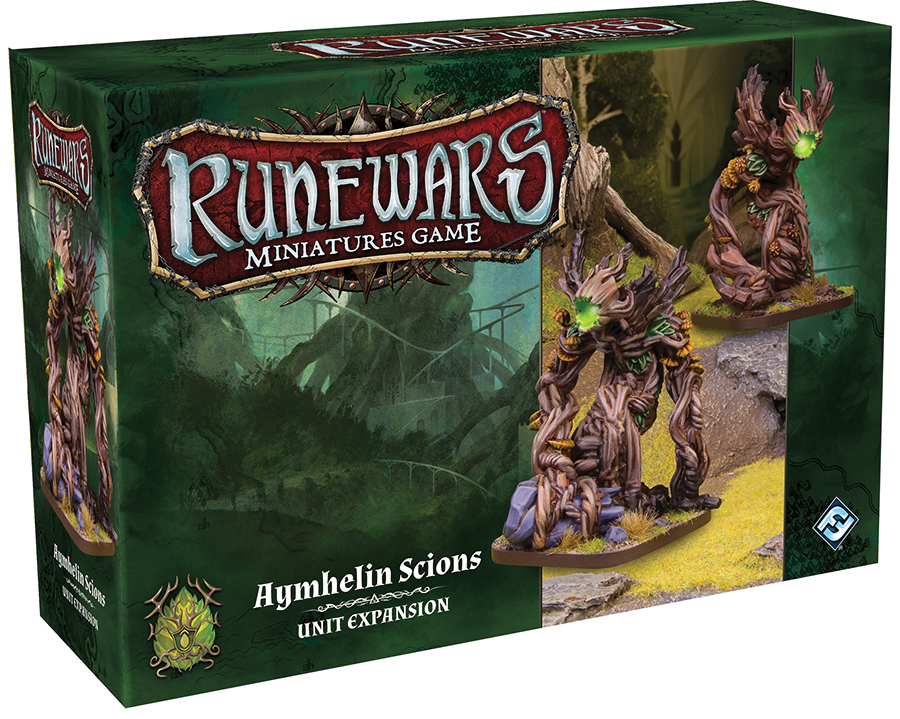 Runewars: The Miniatures Game - Aymhelin Scion Unit Expansion Box Front