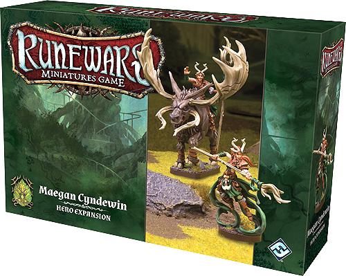 Runewars: The Miniatures Game - Maegan Cyndewin Hero Expansion Box Front