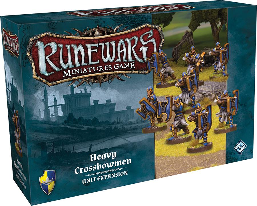 Runewars: The Miniatures Game - Heavy Crossbowmen Unit Expansion Box Front