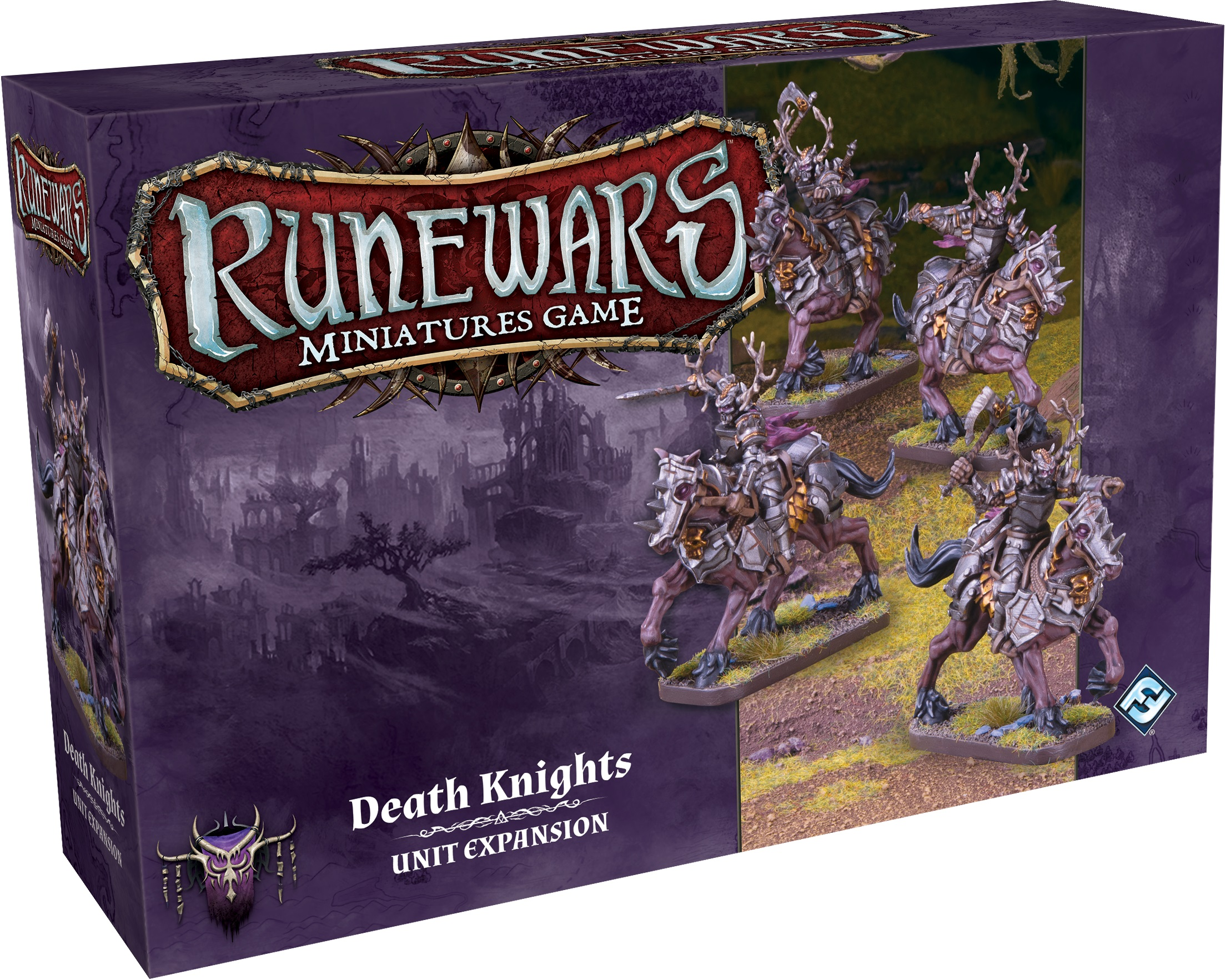 Runewars: The Miniatures Game - Death Knights Unit Expansion Box Front
