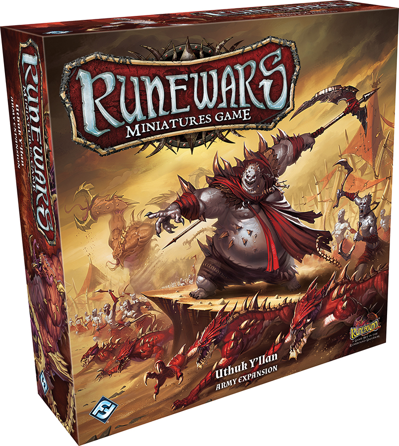 Runewars: The Miniatures Game - Uthuk Y`llan Army Expansion Box Front