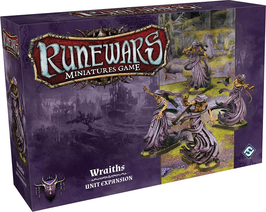 Runewars: The Miniatures Game - Wraiths Unit Expansion Box Front