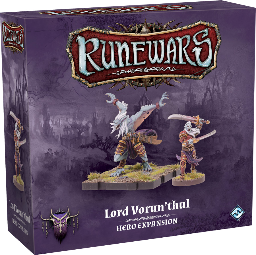 Runewars: The Miniatures Game - Lord Vorun`thul Hero Expansion Box Front