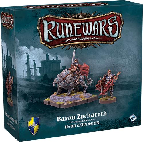 Runewars: The Miniatures Game - Baron Zachareth Hero Expansion Box Front