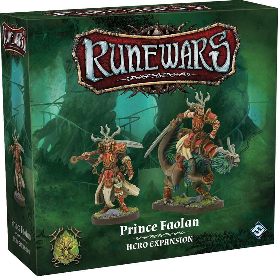 Runewars: The Miniatures Game - Prince Faolan Hero Expansion Game Box