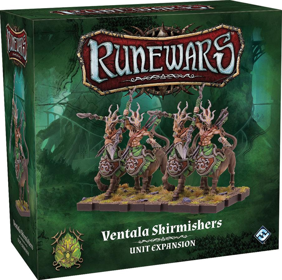 Runewars: The Miniatures Game - Ventala Skirmishers Unit Expansion Game Box