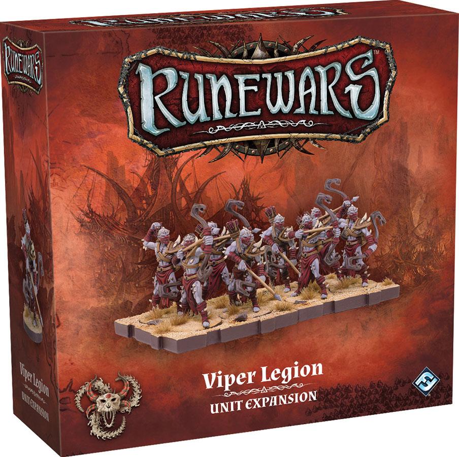 Runewars: The Miniatures Game - Viper Legion Unit Expansion Game Box