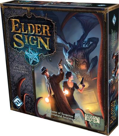 Elder Sign Box Front