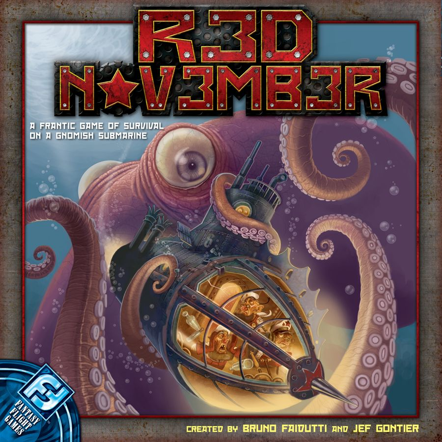 Red November (revised Edition) Box Front