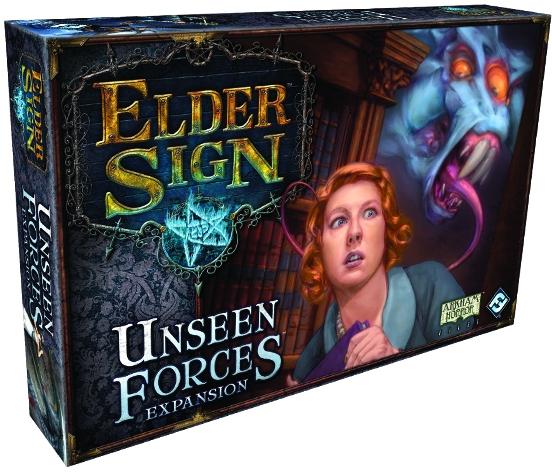 Elder Sign: Unseen Forces Expansion Box Front