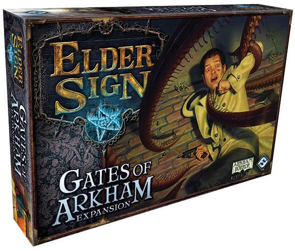 Elder Sign: The Gates Of Arkham Expansion Box Front