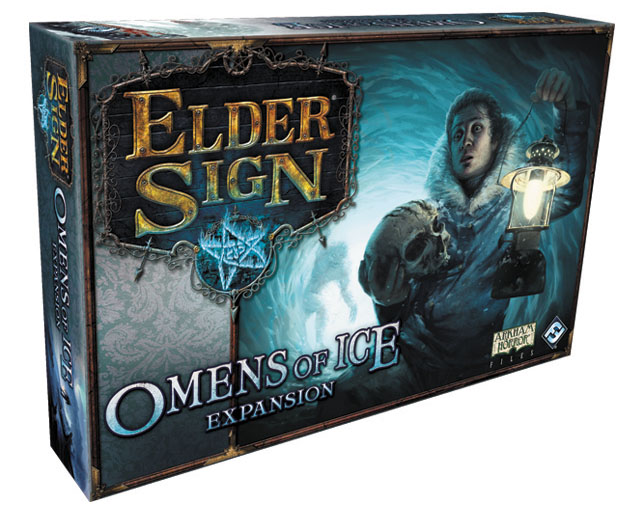 Elder Sign: Omens Of Ice Expansion Box Front