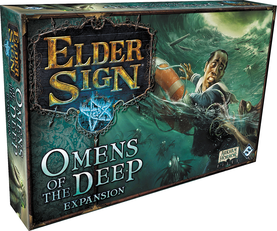 Elder Sign: Omens Of The Deep Expansion Box Front