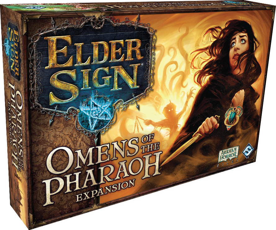 Elder Sign: Omens Of The Pharaoh Expansion Box Front