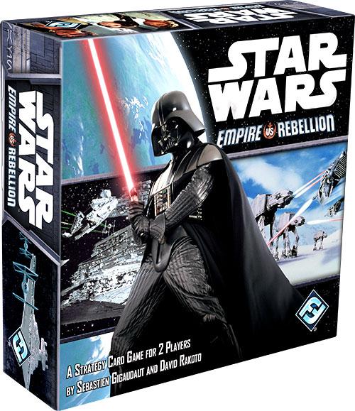 Star Wars: Empire Vs Rebellion Box Front