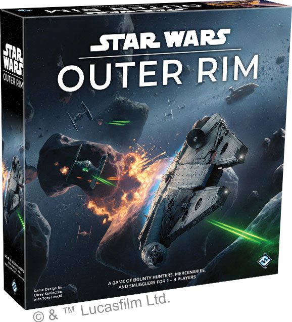 Star Wars: Outer Rim Game Box