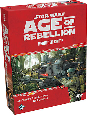 Star Wars Rpg: Age Of Rebellion - Beginner Game Box Front