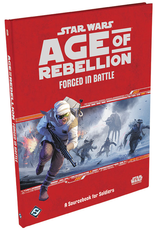 Star Wars Rpg: Age Of Rebellion - Forged In Battle Hardcover Box Front