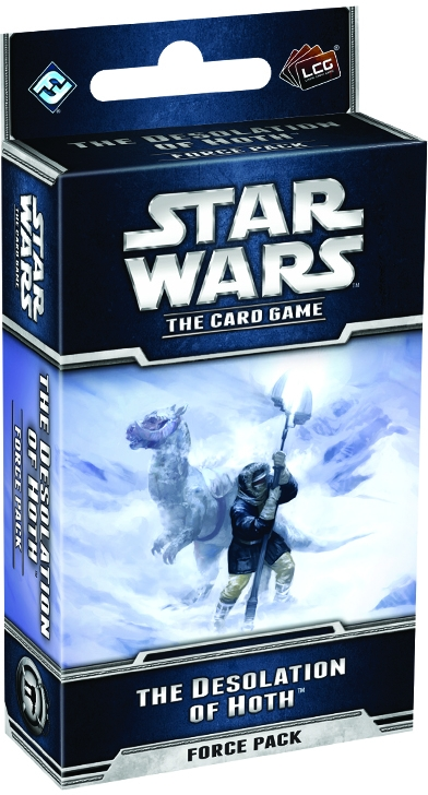 Star Wars Lcg: The Desolation Of Hoth Force Pack Box Front